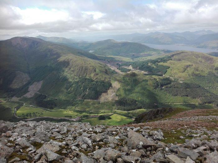 Ben Nevis Scotland Halfway Up