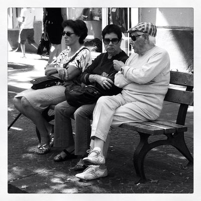 People watching in Napoli by Marco