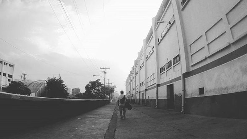 What happens when you lose everything, you just start again... Perspective Blackandwhite Eyefish VSCO Vscocam City