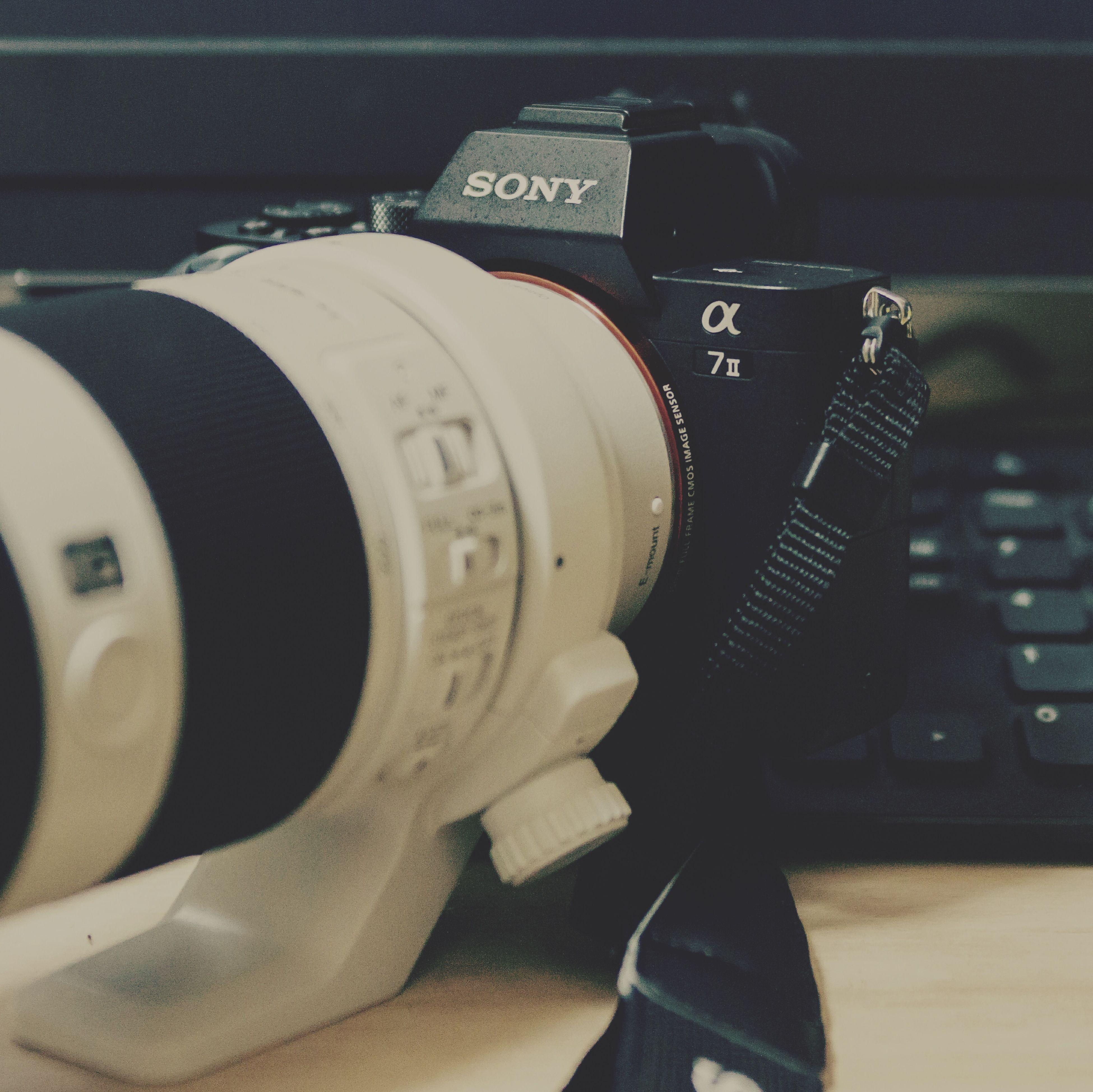 新しい相棒~♪ Taking Photos Camera Sony α7Ⅱ 嫁には内緒