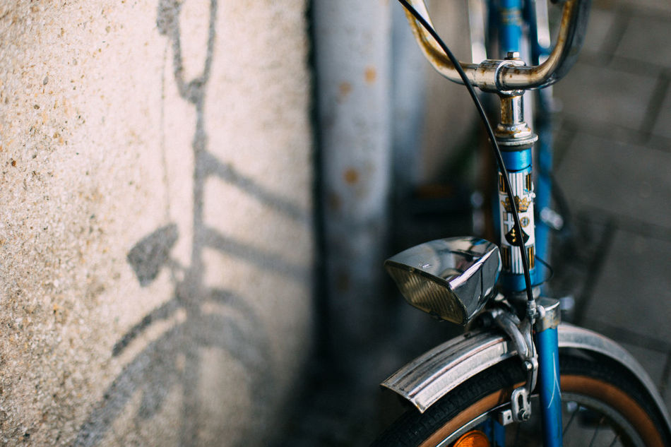 Beautiful stock photos of transport, Bicycle, Close-Up, Day, Focus On Foreground