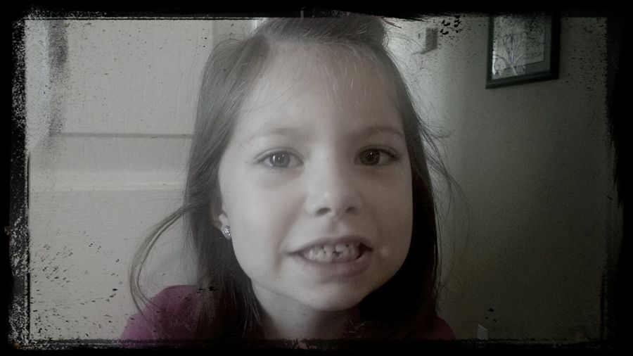 First tooth gone!