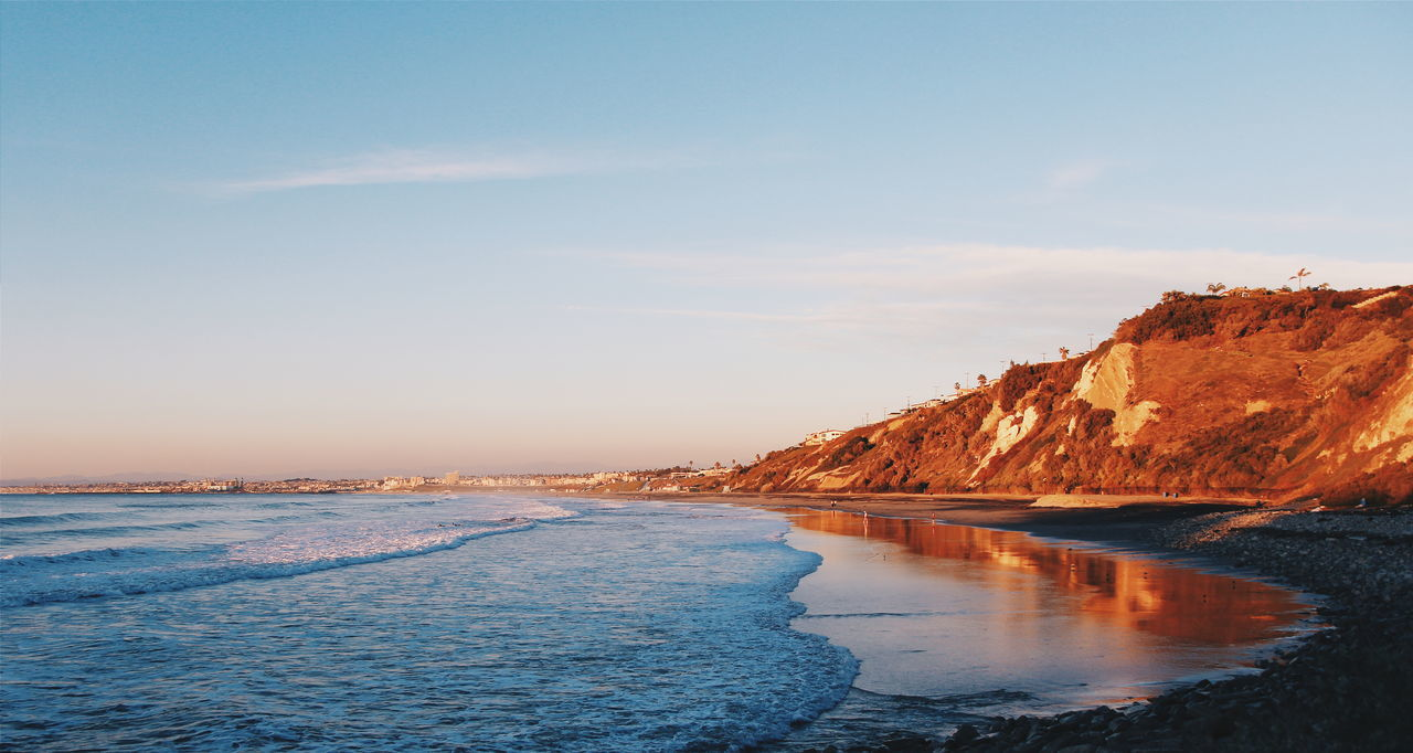 Beautiful stock photos of los angeles, Beach, Beauty In Nature, Day, Mountain Range