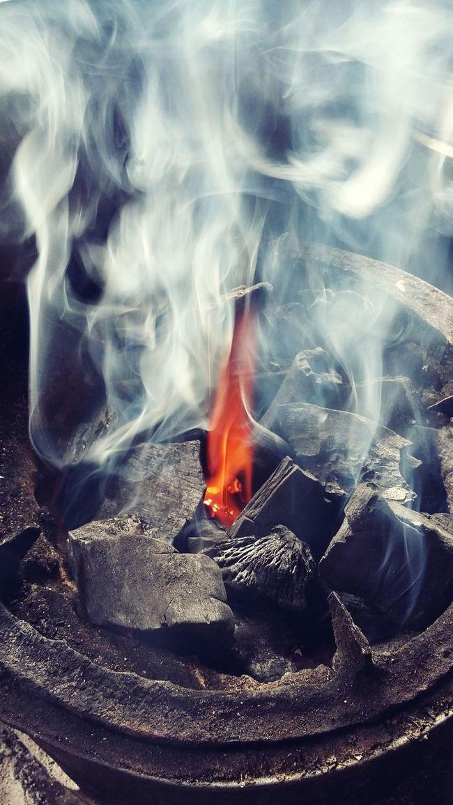 Coal Fire Smoke