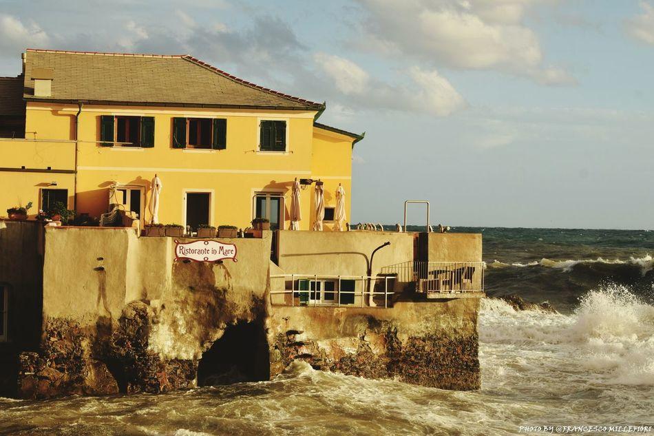 Spiaggia di boccadasse Sea Nature Beach Restaurant Food
