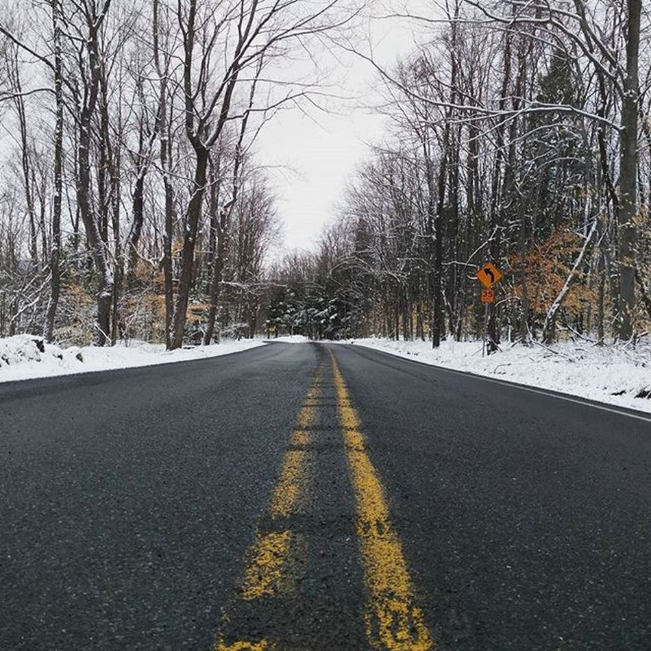 Crusin on this wintery day . . . . . . Winter Road Vibes Nature Outdoors Scenicpa Centralpascenery Naturalpennsylvania Nature April GetOutThere Cool Crusin Moodygrams