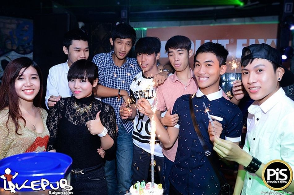 Happy brithday to you ^^ Drinks Night Out Relaxing Enjoying Life
