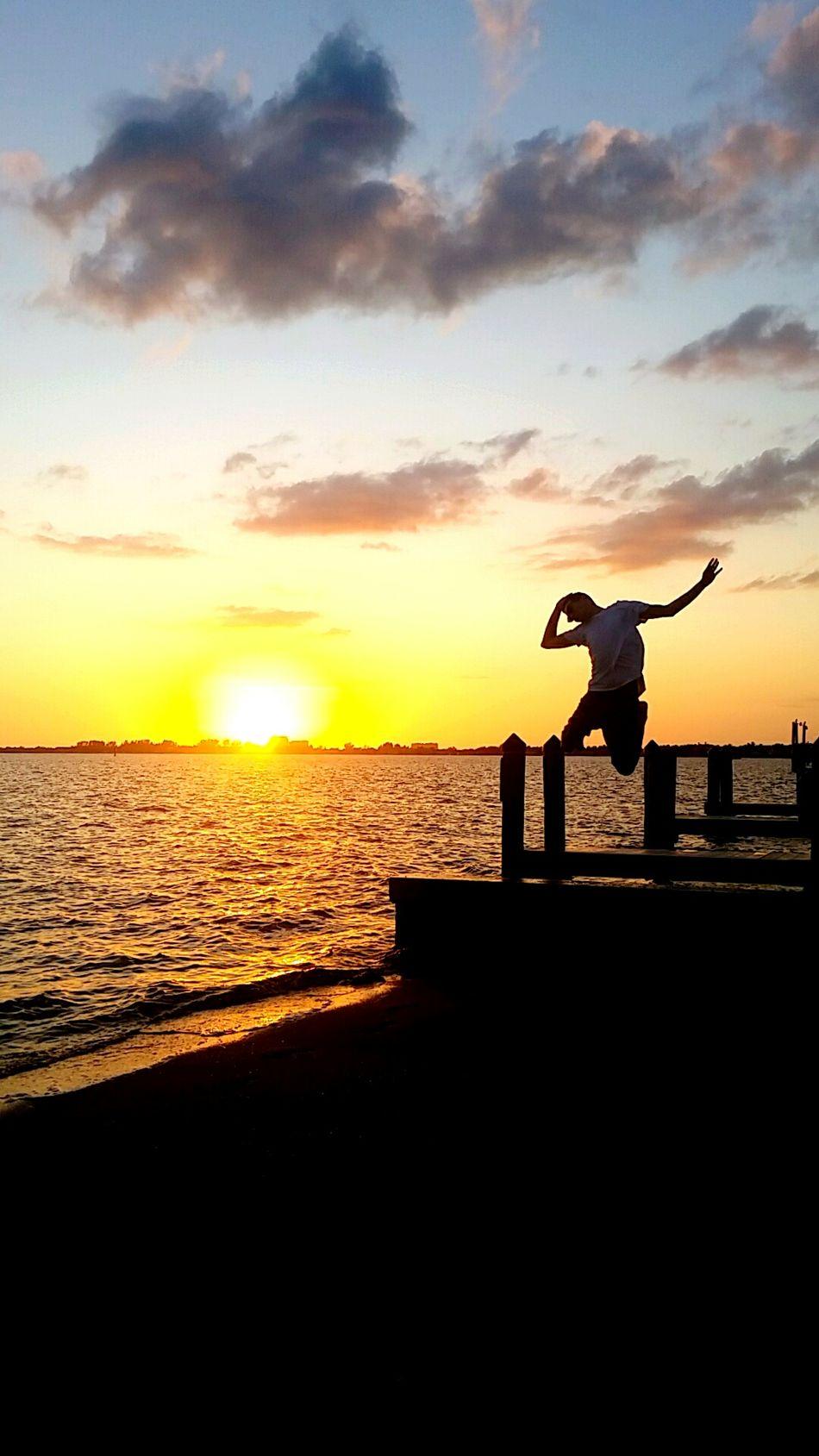 Cape Cod Sunset Awhile Back