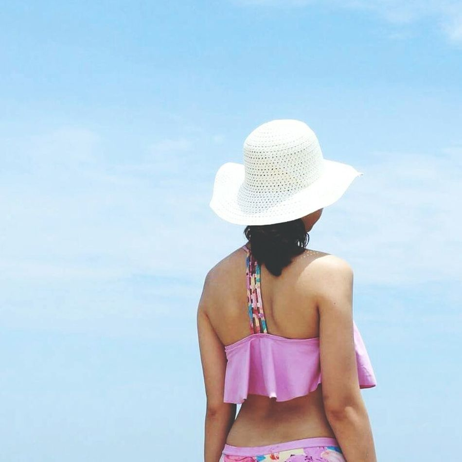 Behindagirl Summer Lostinthesky Lostinamoment