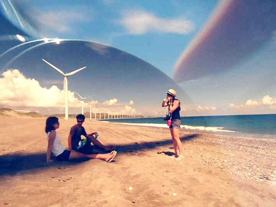 Theough the lens of my sunglasses. 😊 Creative Photography Through My Sunglasses Ilocos Norte, Philippines  Eyeem Philippines Photographic Memory Bangui Windmills  Summer Views The Great Outdoors - 2016 EyeEm Awards The Essence Of Summer