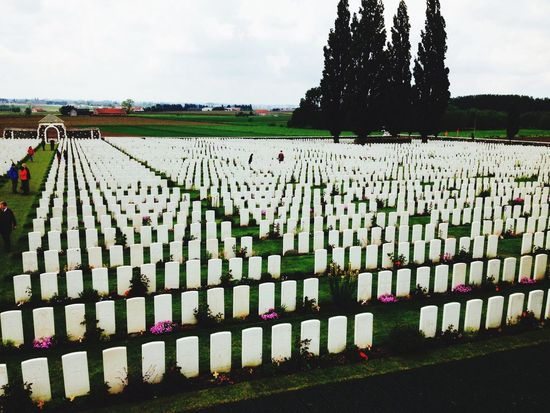 Wwi Schooltrip Cemetery Respect