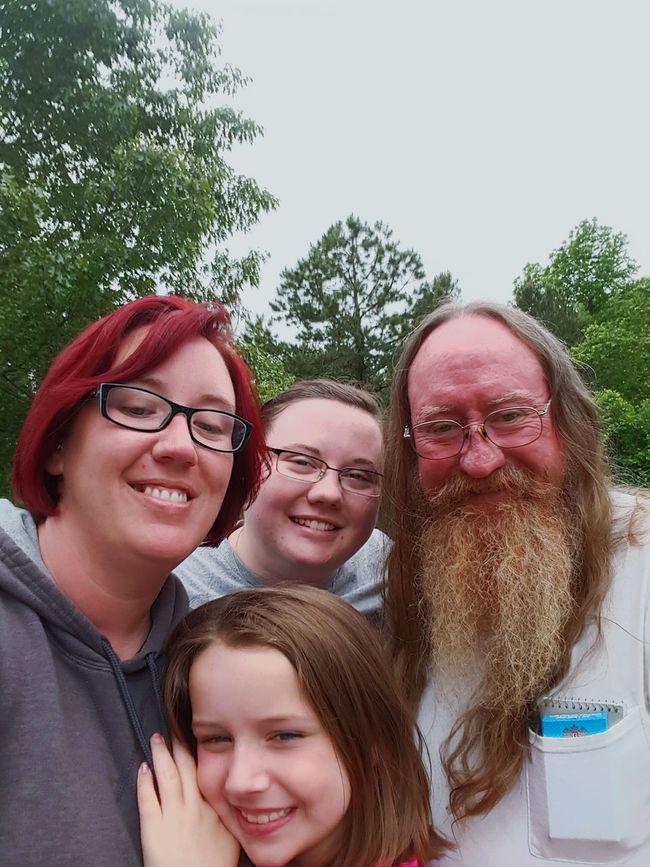 Family❤ Visiting Daddy Beautiful Arkansas