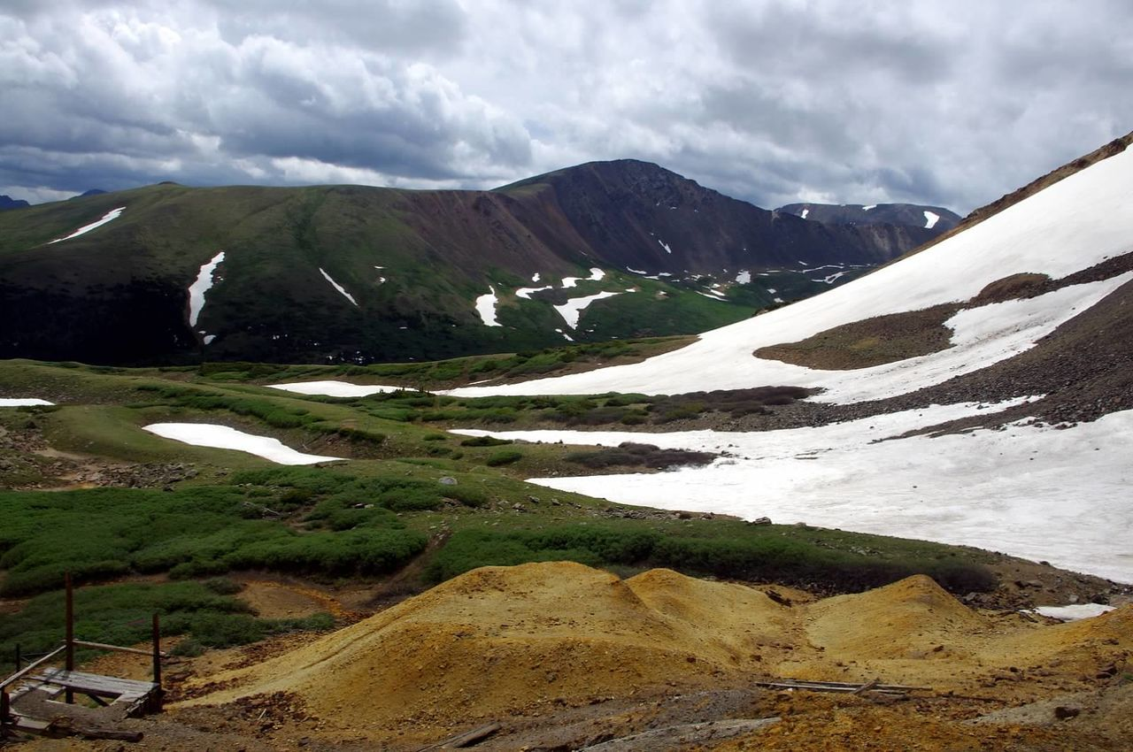 Beauty In Nature Outdoors Landscape Mountain Argentine Pass Santiago Mine Mining Heritage Scenics Colorado Colorado Photography Mining History Of America Snow