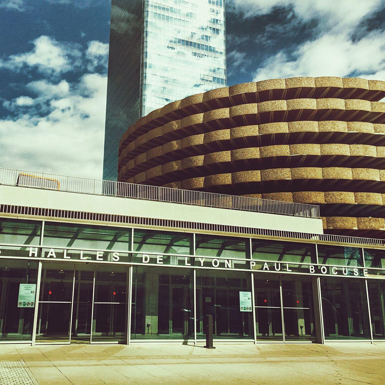 Paul Bocuse Market Building Part Dieu District