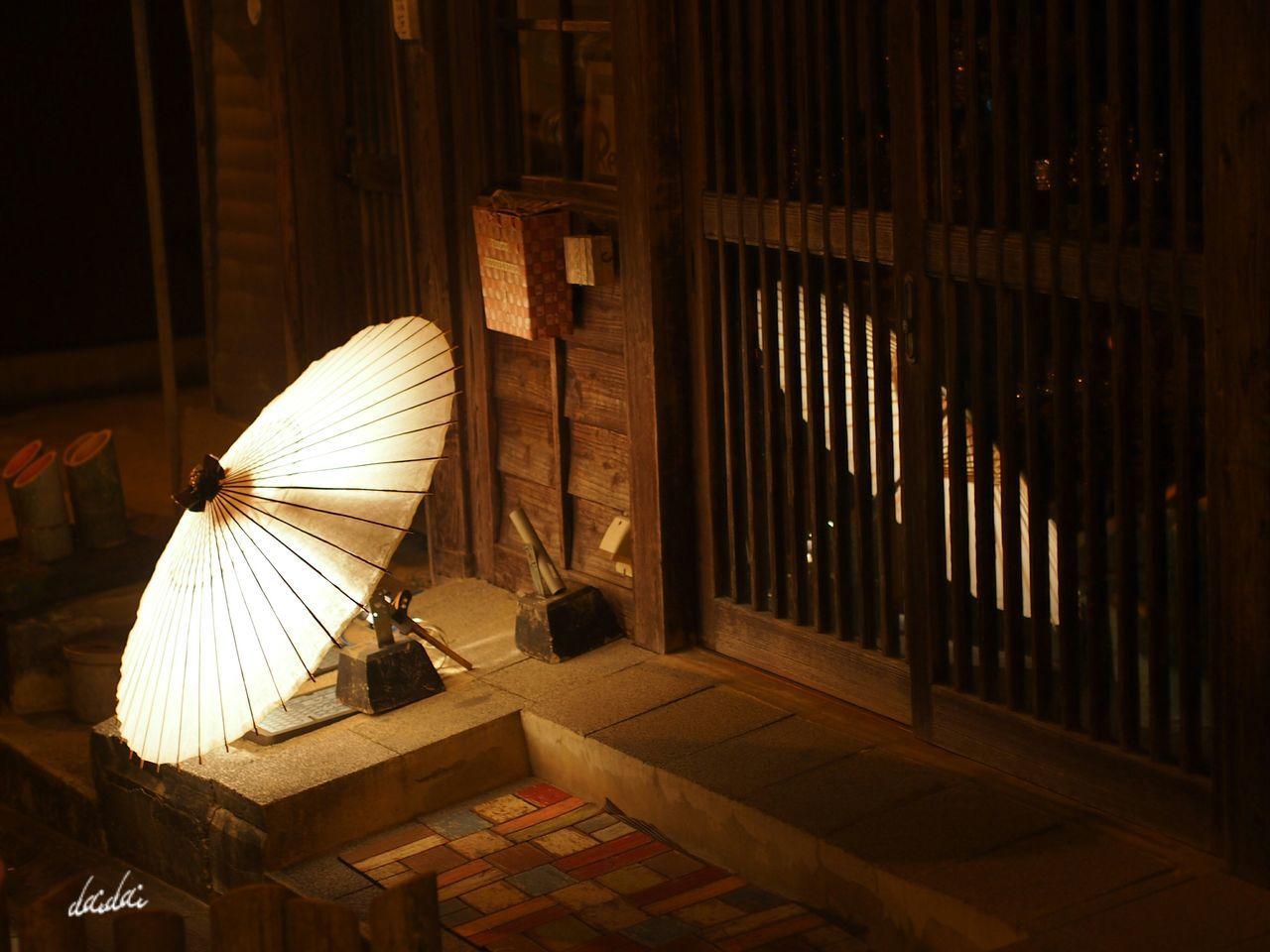 じんわりと E-PL3 Lantern Festival Night Candle 山鹿灯籠浪漫百華百彩 竹 和傘 幻想的 Reflection Japanese Traditional Noedit