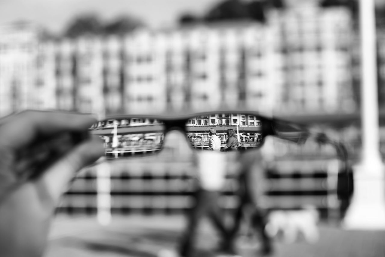 Art Artistic ArtWork Black And White Black And White Collection  Black And White Photography City City Life Cityscapes Different Different Perspective Glasses My Own Style Of Beauty My Own World  People People Photography People Watching Woman Photographer