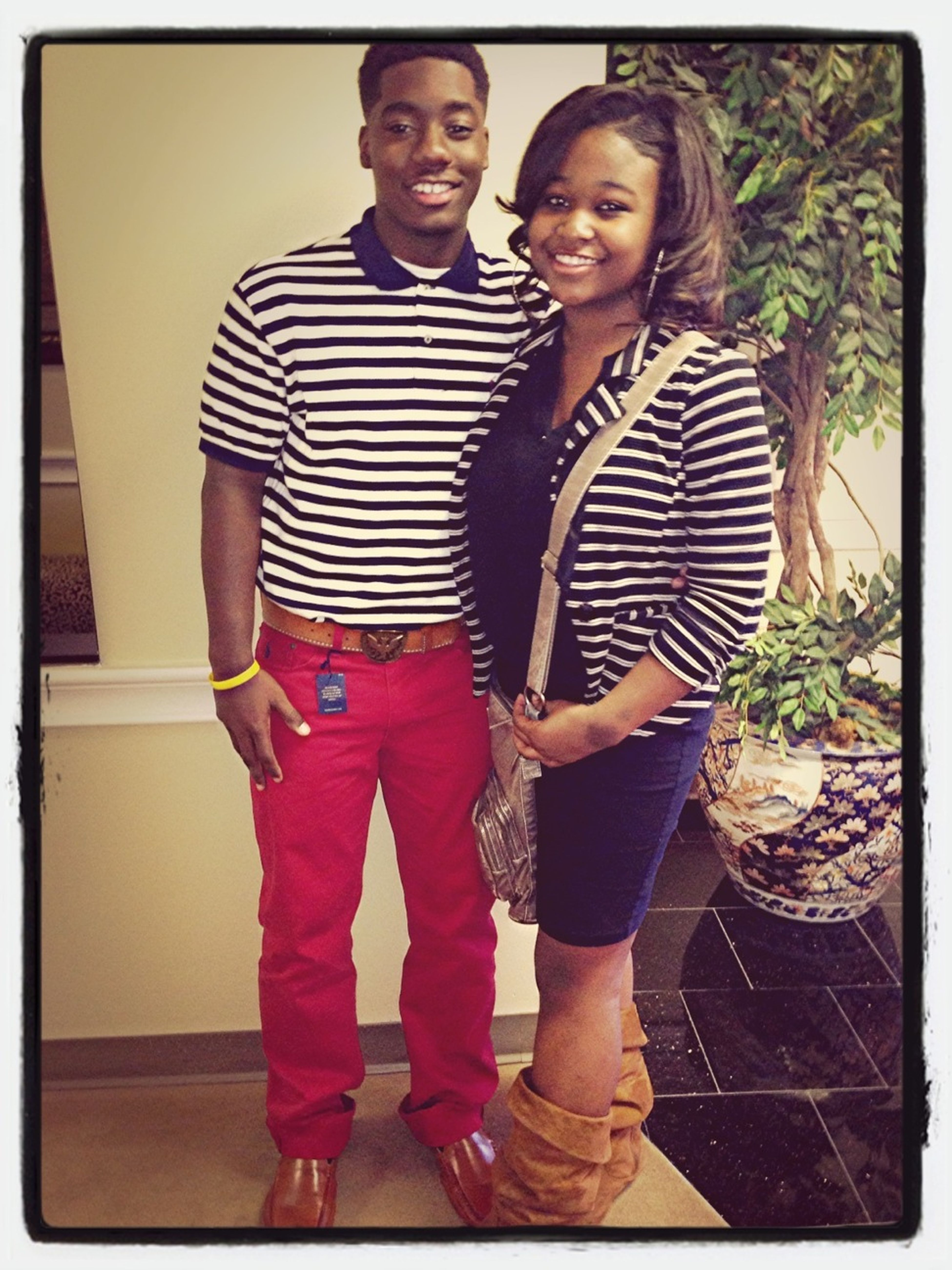 Me And This Gorgeous Lady At Church