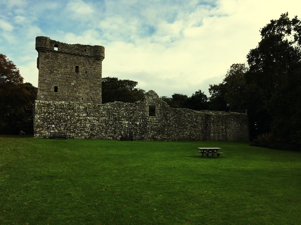 Castle Grass Architecture Loch Leven First Eyeem Photo
