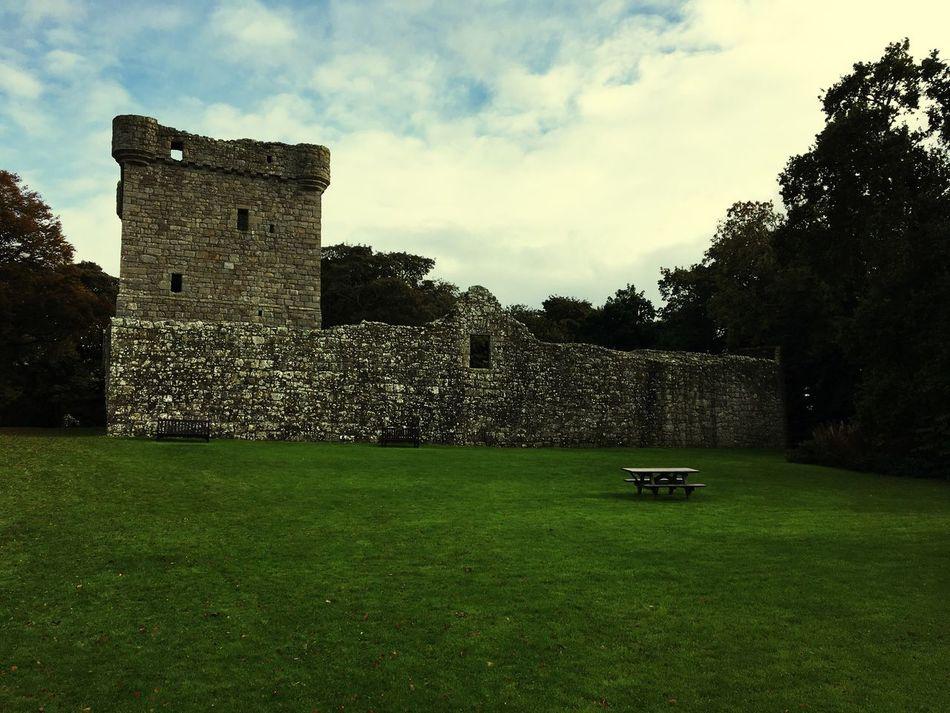 Castle Grass Architecture Loch Leven First Eyeem Photo