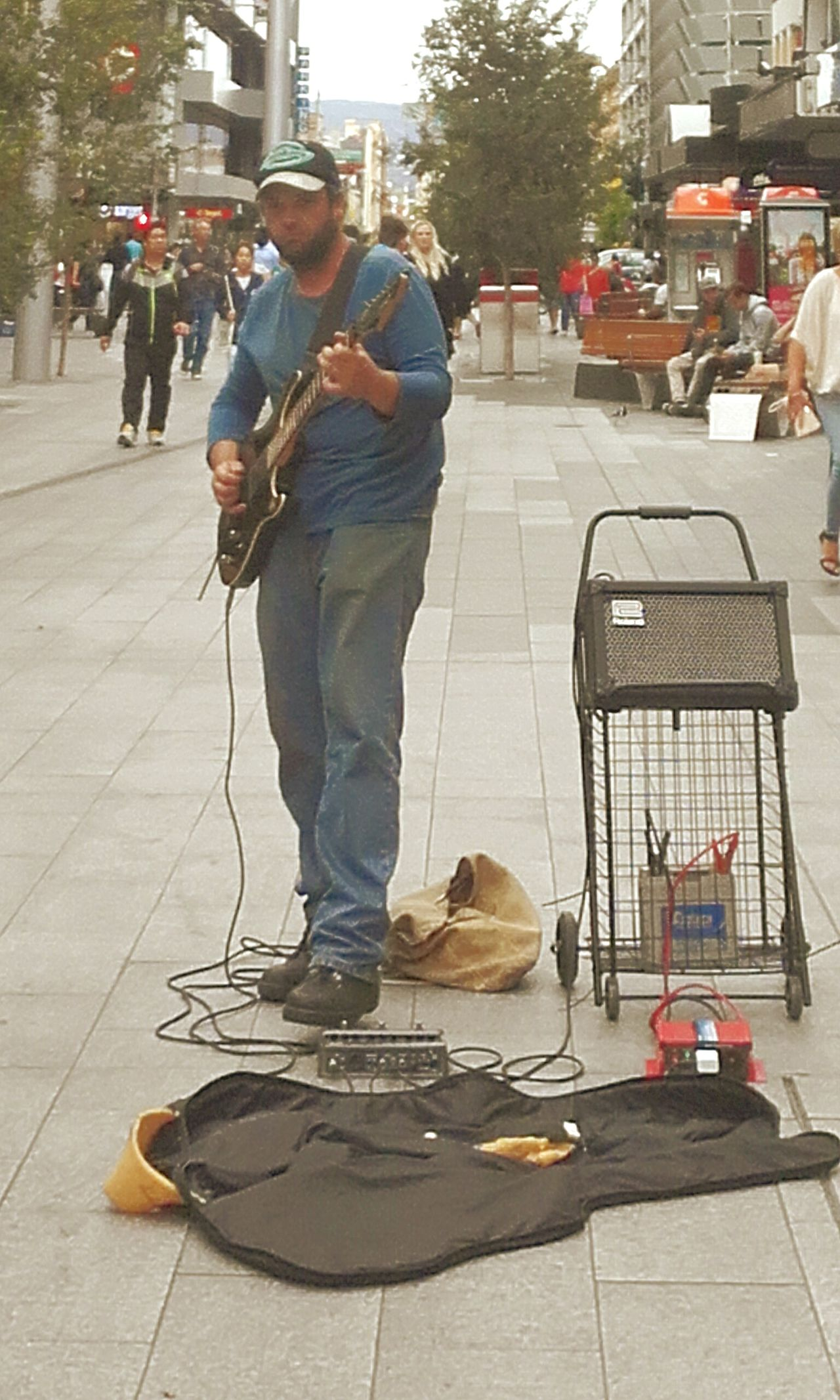 Streetphotography Street Photography Guitar Street Musicians Musician Busker Rundle Mall Rundlemall Buskers Street Musician Streetmusician Streetmusicians Streetmusic Street Muscians In The Mall Playing The Guitar Busking Accousticguitarist Street Music Music CityOfAdelaide City Life Street Life Street Accoustic Guitatist Adelaide