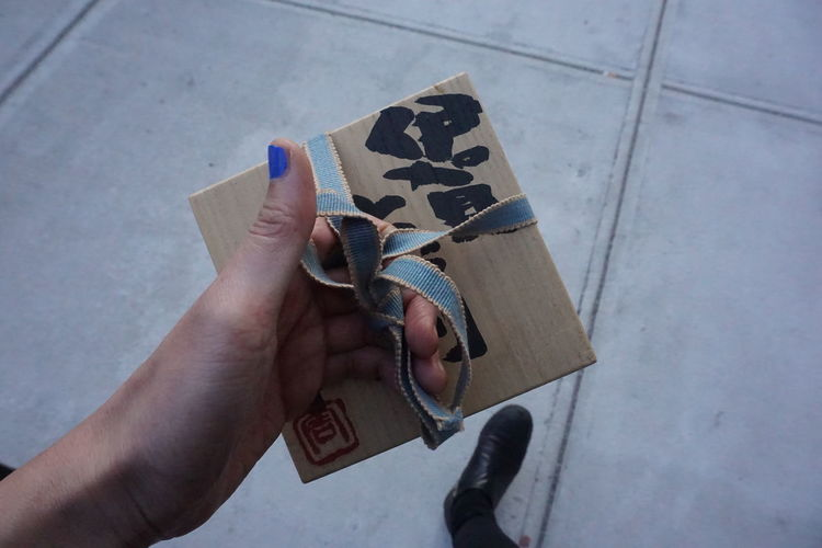 Findings Gift Hand Hausenu New York City Surprise Williamsburg With Love Wooden Box