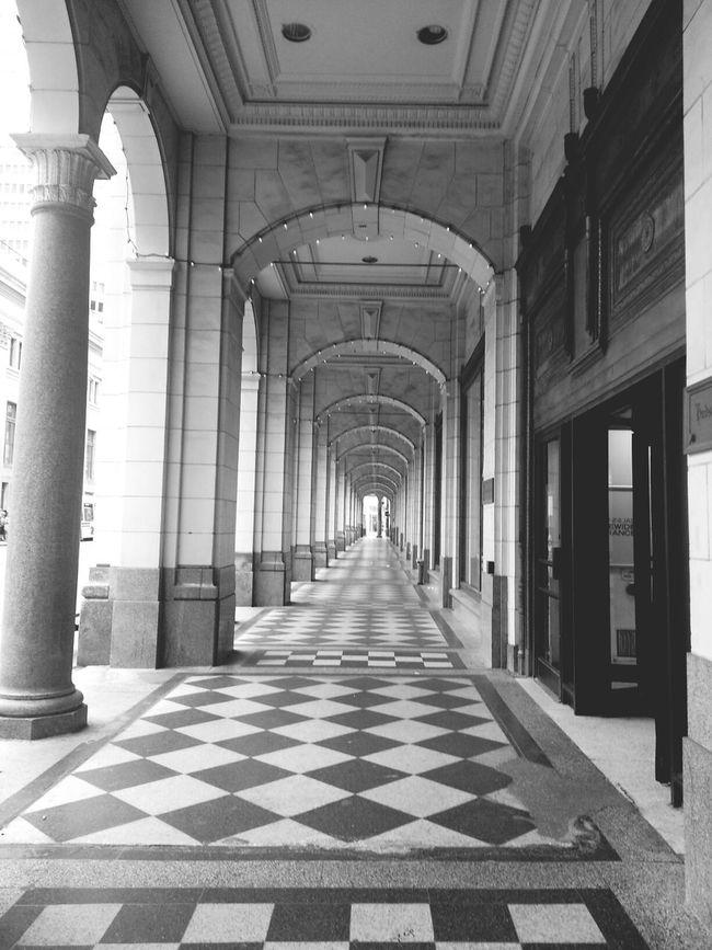 Black & White Downtowncalgary Checkered B&w Gothic feels like im in europe ?