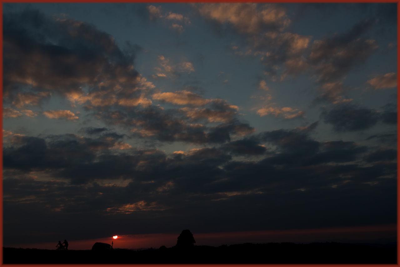 Beauty In Nature Cloud Cloud - Sky Dramatic Sky EyeEm Best Shots Non-urban Scene Orange Color Outdoors Sky Sunset