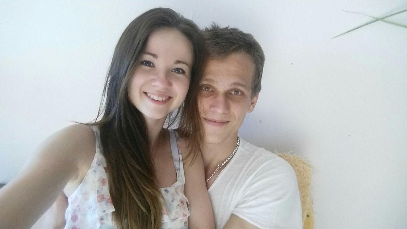 Withhim Love Love ♥ Ilovehim Somuch Somuchlove White MyDarling  Couple Relationship