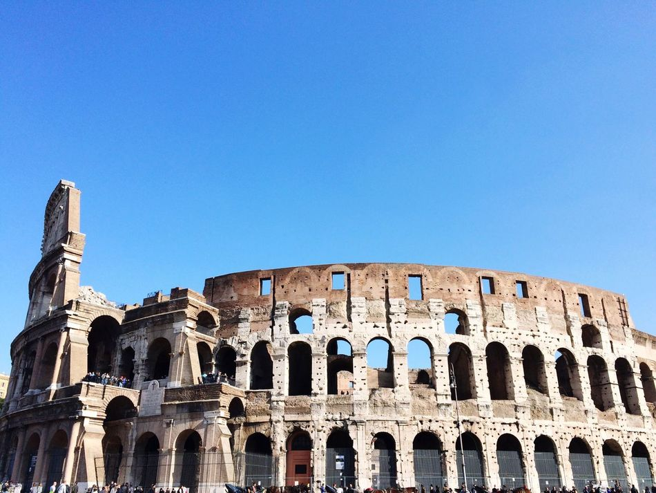 Beautiful stock photos of rome, Amphitheater, Architecture, Arts Culture And Entertainment, Blue
