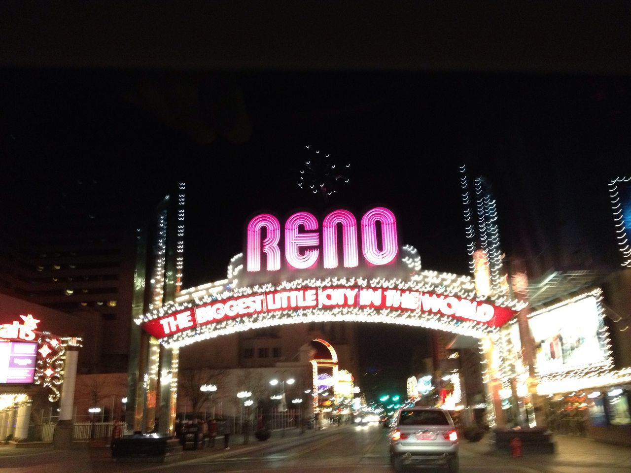 Having fun at The Reno Arch Having Fun