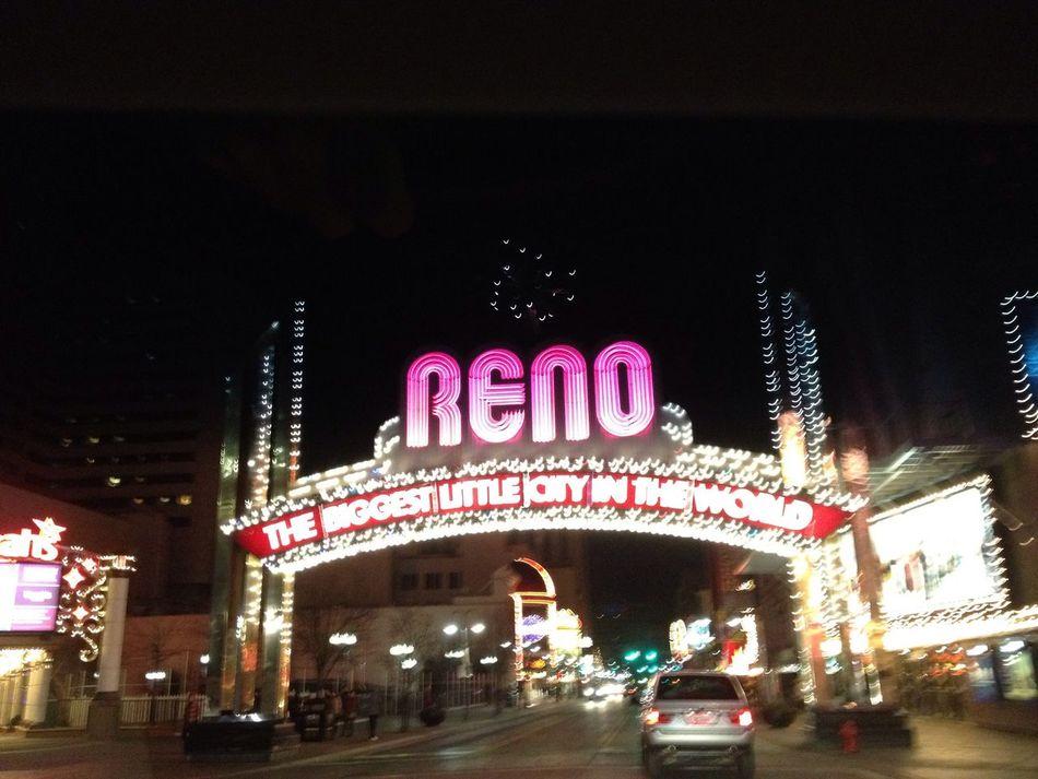Having fun at The Reno Arch Having Fun