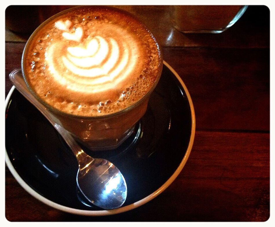 Coffee Coffee - Drink Coffee Cup Cappuccino Drink No People 2016 Taking Photos Enjoying Life Loveit Coffee Time Yolo Ilovecoffee Happy :) Metime Thanks God Blessed  Latepost