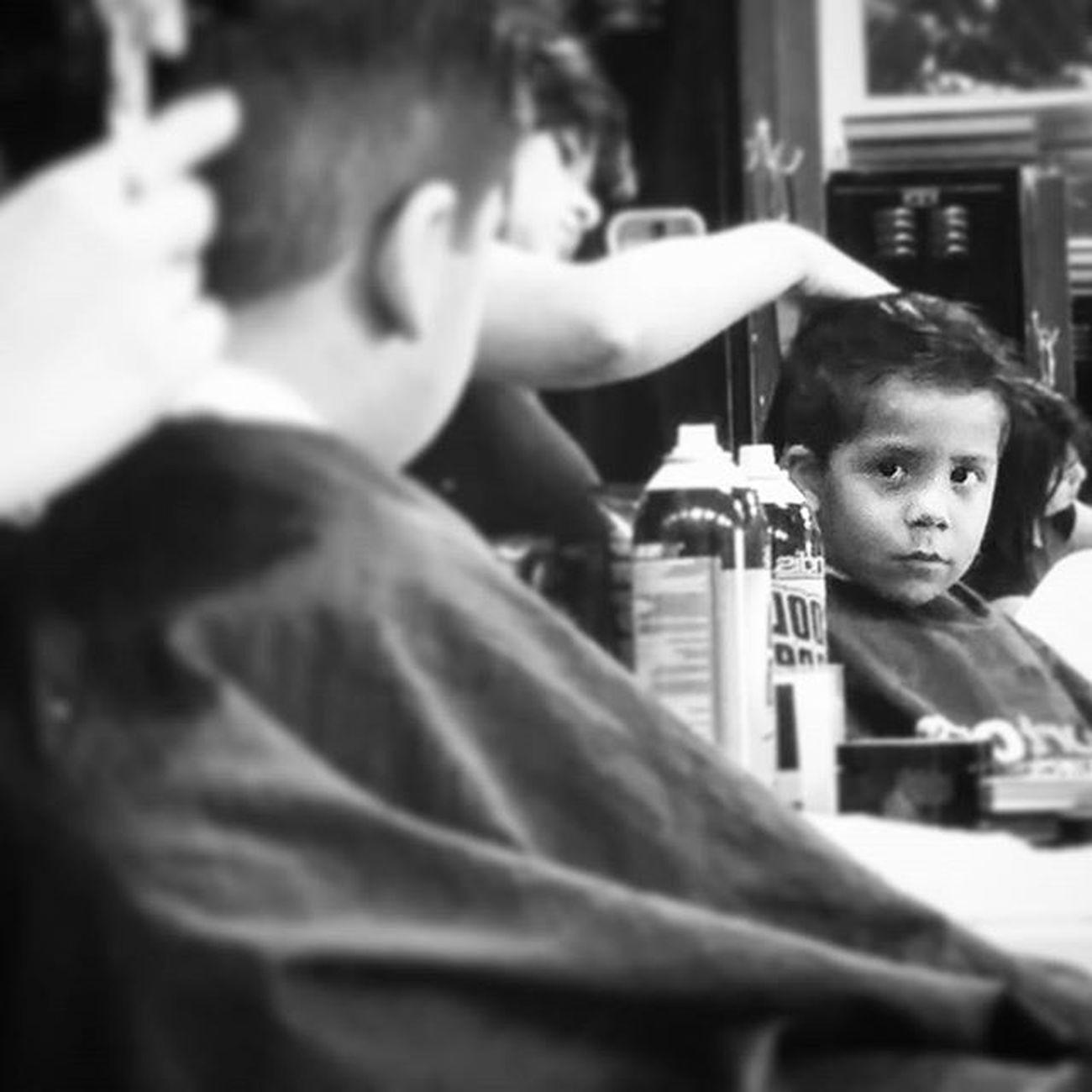 Looking Good little man Haircut Backtoschool