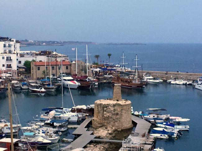 150731 Boat Cyprus Galpay Girne Harbor Kyrenia Kıbrıs