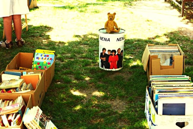 Flea Markets Vinyl Looking At Things Walking Around Seasons Hannover Germany Summertime