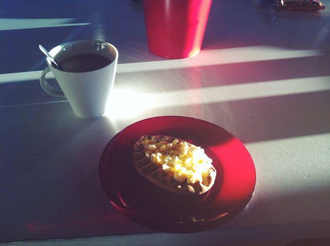 Breakfast Foodporn Tea Sun