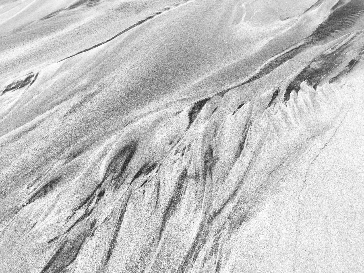 Pattern in the sand Seascape Beach Beach Life Beachphotography Beach Photography Monochromatic Oceanside Blackandwhite Photography Black&white Black And White Black & White Beachlife Seaside Composition Blackandwhite Contemplating Perspective Sand Sand & Sea Sand Dune Sand Pattern Sand Patterns Sand Dunes Micro To Macro Grains Of Sand