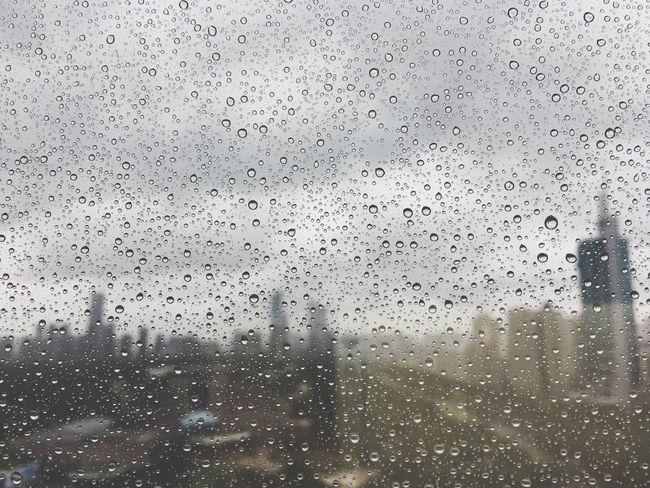 Rainy Days Building Shenzhen Clouds