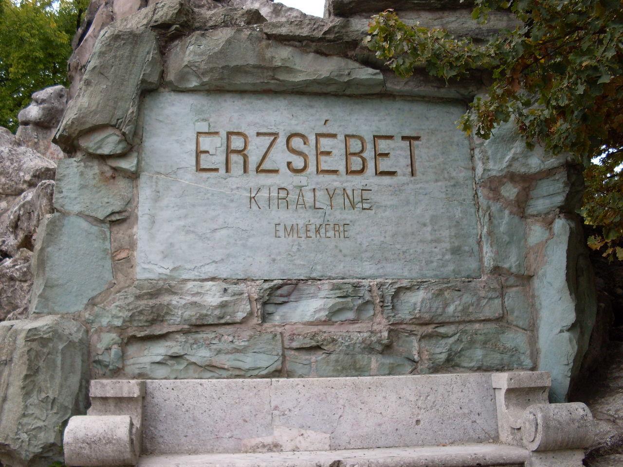 Monument Sculpture Autumn Gödöllő, Hungary Erzsébet Királyné Sissy!!