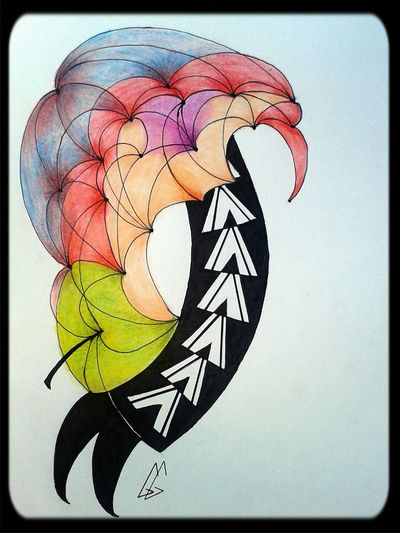 Colors Art Drawing Apple