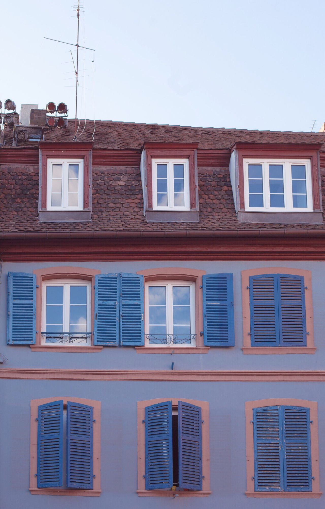 Rooftop Building Exterior Window Architecture Built Structure No People Outdoors Day