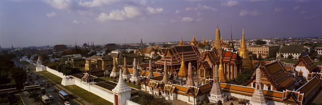 Grand Palace Bangkok Thailand Business Business Finance And Industry City Cityscape Commercial Dock Factory Grand Palace Bangkok Thailand Harbor Horizontal Industry Metal Industry Nautical Vessel No People Outdoors Sky