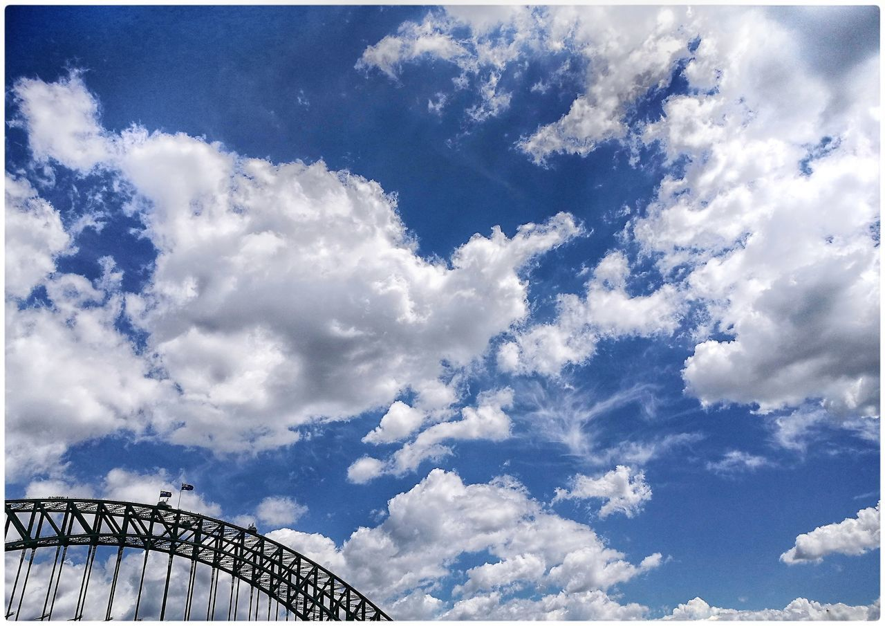 Sydney harbour bridge, Dec 2016 Sky Low Angle View Cloud - Sky No People Outdoors Beauty In Nature Nature Day Harbour Bridge Sydney, Australia