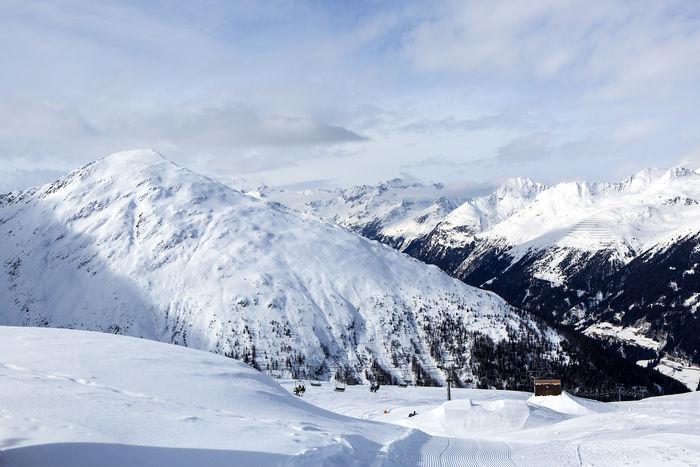 Austria Austria Mountains Austrian Alps Beauty In Nature Cold Temperature Day Deep Snow Landscape Mountain Mountain Range Mountain View Nature No People Outdoors Scenics Sky Snow Tirol  Winter