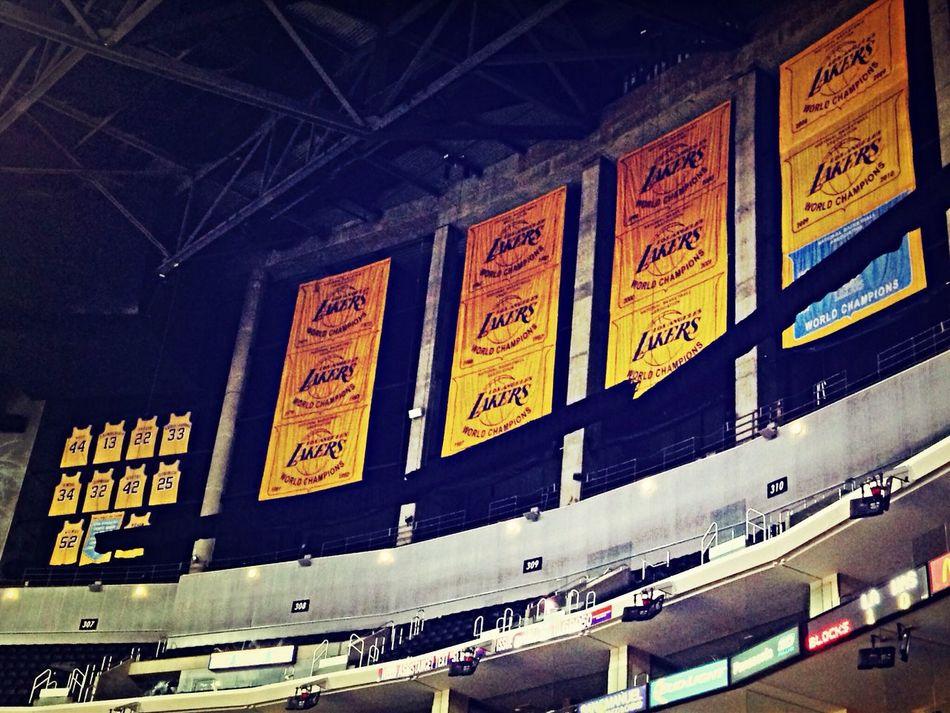 Enjoying Life Los Angeles Lakers Basketball