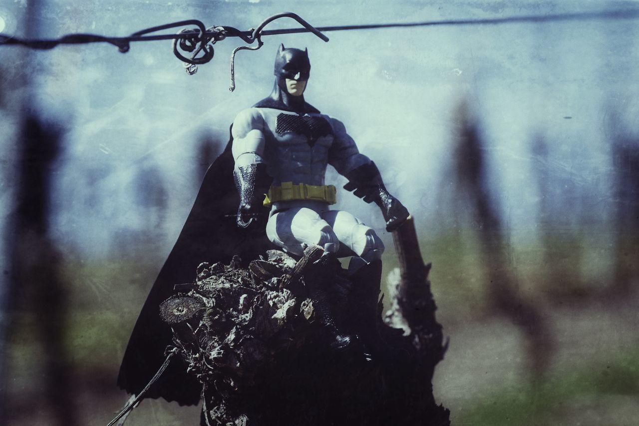 Have A Nice Day♥ Hello World Dark Knight Batman Comic Heroes Vineyard Take A Break Sky