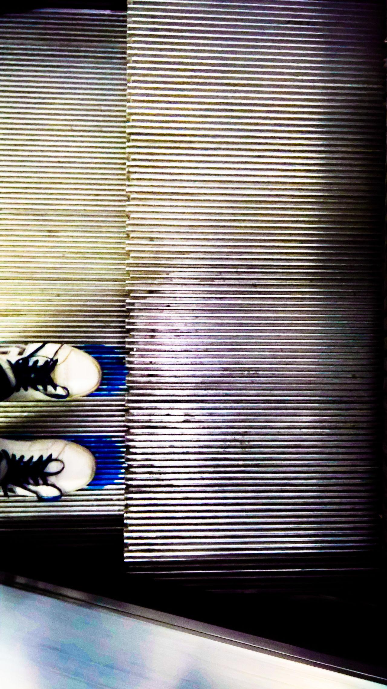 Escelator Feet Indoors  London Stand Right Subway Underground Underground Station