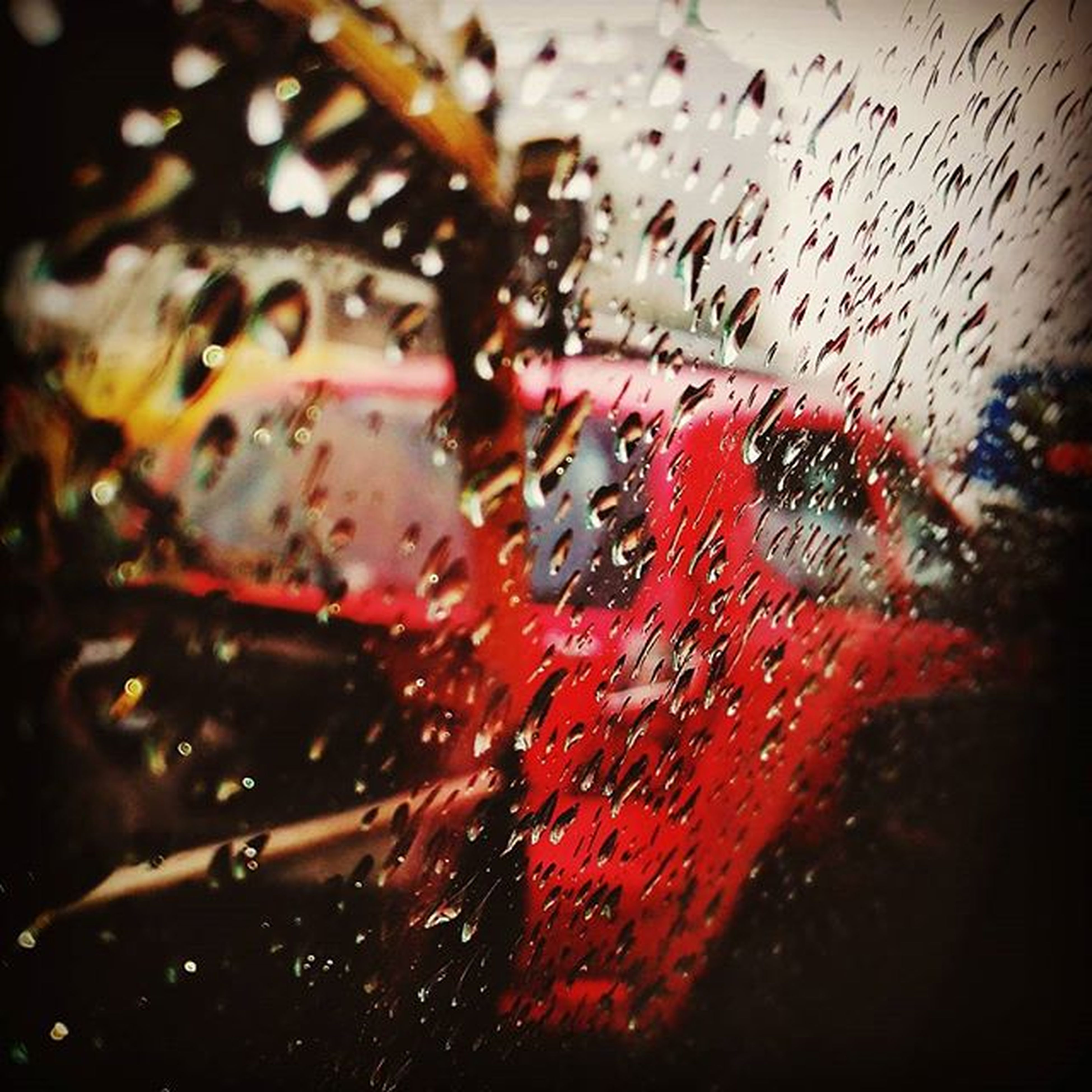 WHATAWEATHER Raindrops Focusphotography Trafficjam Edited