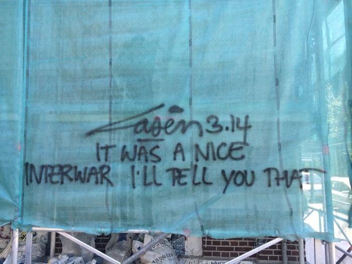 Street Art Urban Art Graffiti Laser 3.14