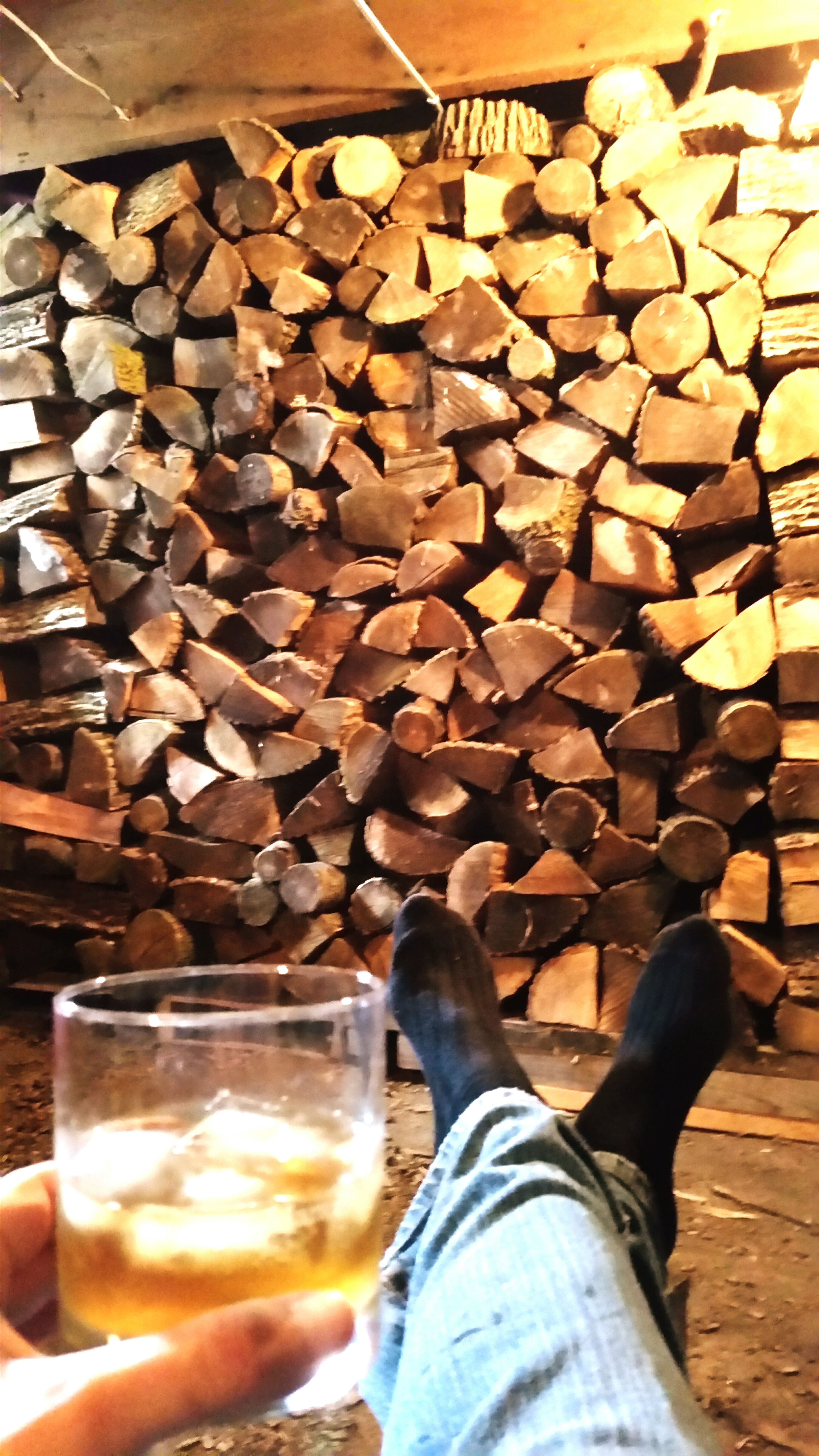 Me celebrating with Mr. Jim Beam after filling my basement with 16 face cords of firewood for the winter. Cheers! CountryLivinG Firewood Firewood Stack Timetodownsomejimbeam Jimbeam Canadianwinter Bloodsweatandtears Winterwarmth